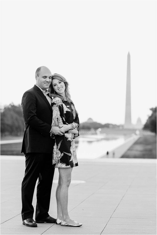 hannah leigh photography Sunrise Jefferson Memorial Engagement Session, Washington DC_1019.jpg
