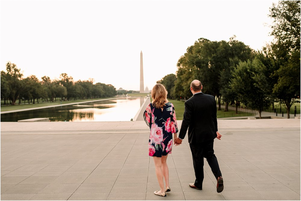 hannah leigh photography Sunrise Jefferson Memorial Engagement Session, Washington DC_1021.jpg