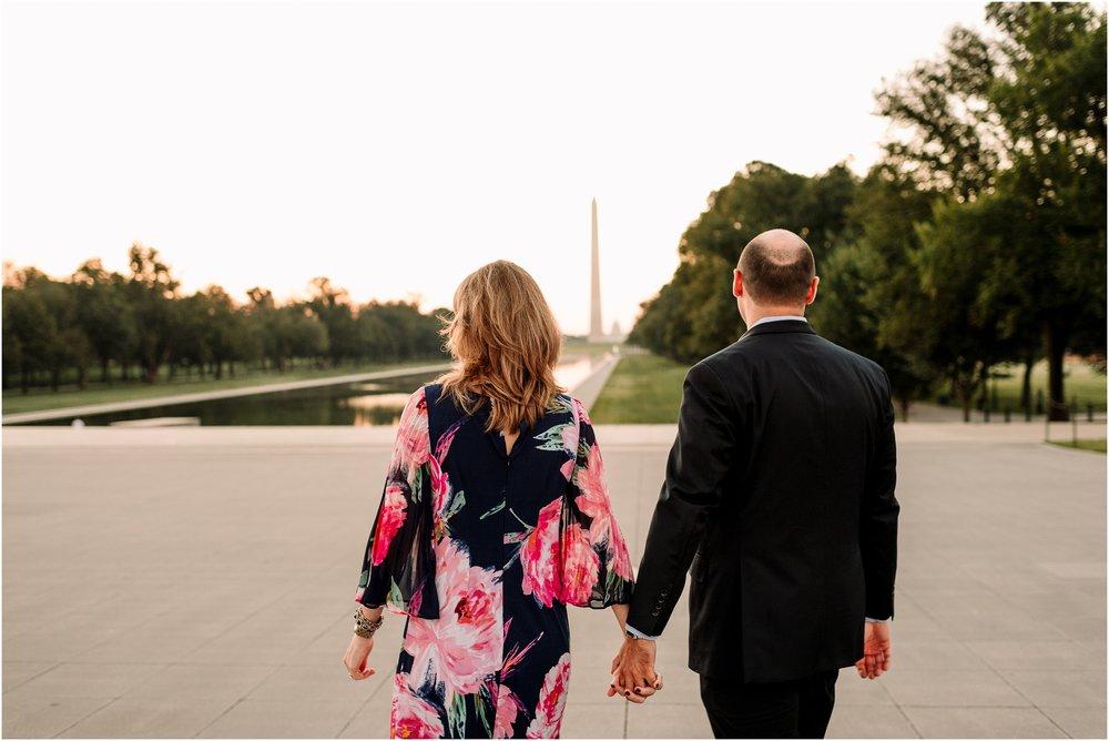 hannah leigh photography Sunrise Jefferson Memorial Engagement Session, Washington DC_1020.jpg