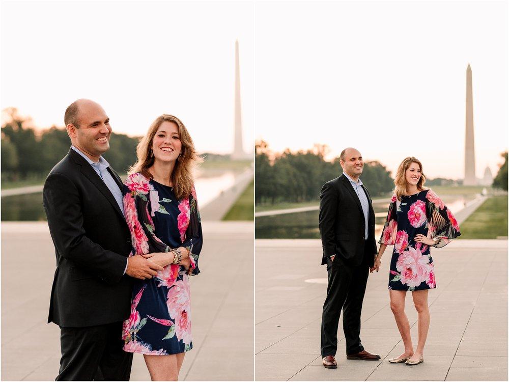 hannah leigh photography Sunrise Jefferson Memorial Engagement Session, Washington DC_1004.jpg