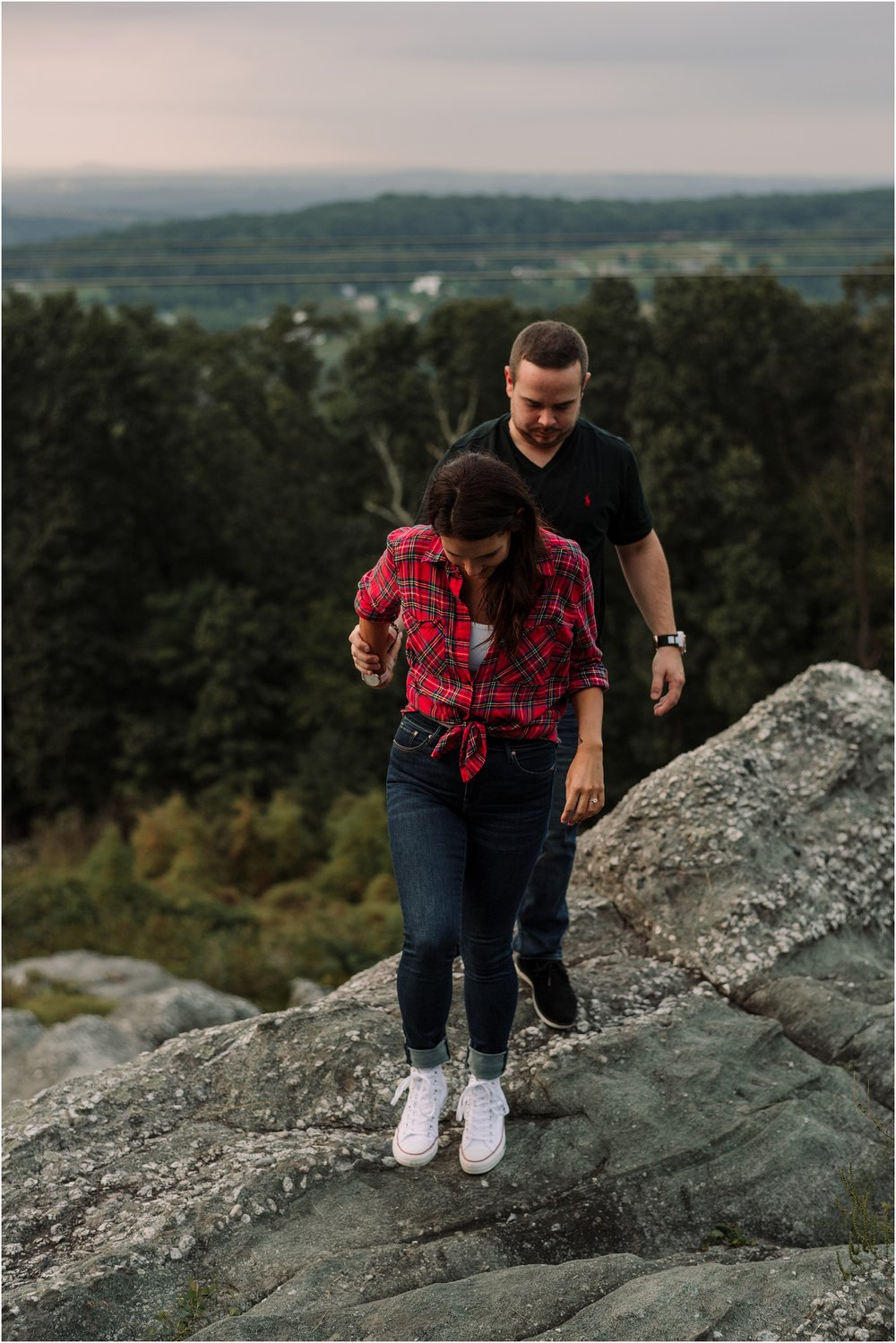 hannah leigh photography woodsy engagement session PA_1627.jpg