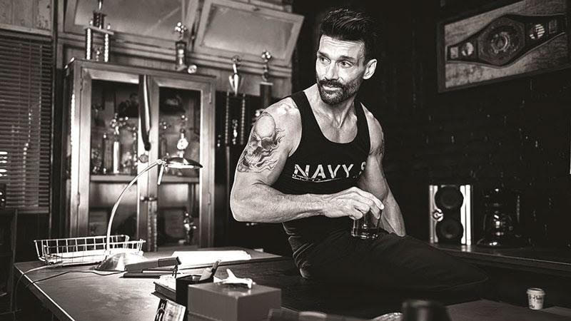 actor frank grillo is just only getting started.