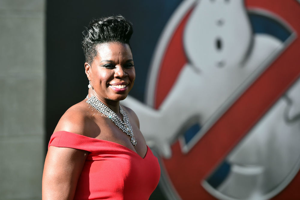 Leslie Jones, SNL Player, Writer, Stand Up comedian and newest Ghostbuster.