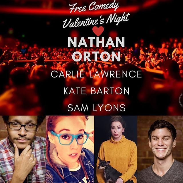 Be our Valentine ❤️ Stand up comedy in Saint Louis on Thursday 2/14! Sing karaoke to your sweetie after the show - 8pm at @southtown_pubstl #comedy #thingstodoinstlouis #stlouisonly #missouri #standupcomedy #karaoke #nathanorton #carlielawrence #katebarton #samlyons #amazing #goodtimes #southcity #saintlouis #stlcomedy #podcasting #download #allthingscomedy #liveshow #instafunny #instacomedy #freeshow #blues #laughs  #valentinesday2018 #february #comedians #stlouisgram #stlgram #funnygram