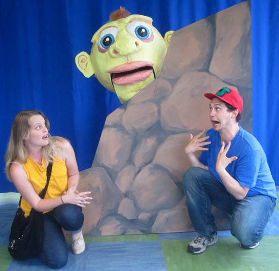 """After the Beanstalk: Jack, Jill, & the Giant.""  Providence Children's Museum, 2013 ."
