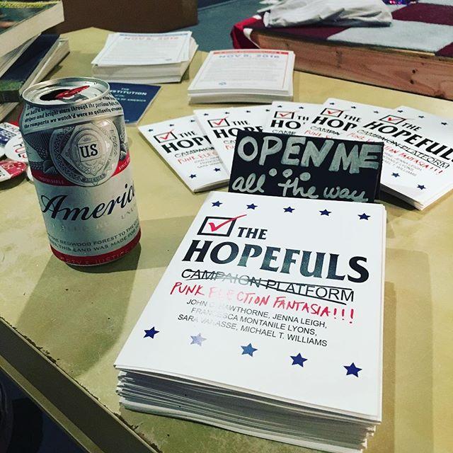 We ready. #america #budweiser #pandering #hopefuls2016 #joyofvoting