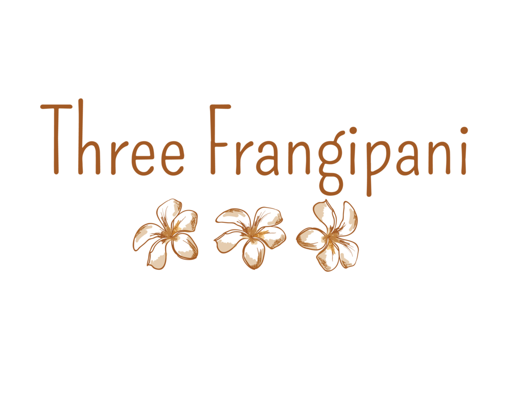 Three Frangipani    Fashion label logo