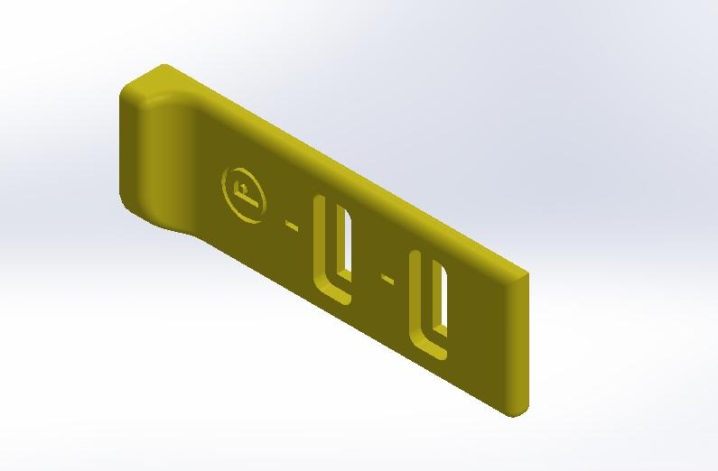 Cliquez sur l'image pour télécharger le fichier STL - gauche (nouveau design - jan 2018)