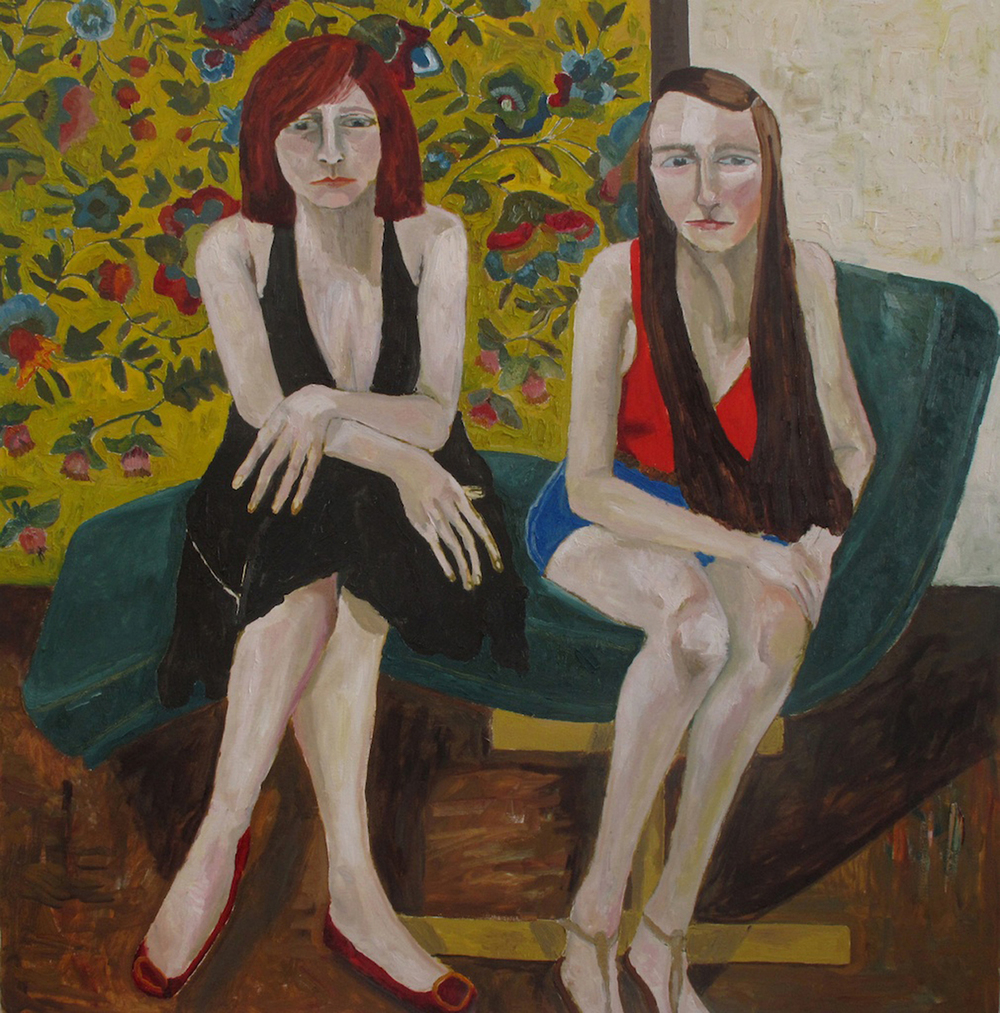 Portrait of Anita and Nora