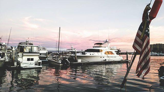Dock views in Newport #newportbeach #sailboatcharters #sailing #newportsailboatcharters #letsgetyououthere #oceanminded #boating