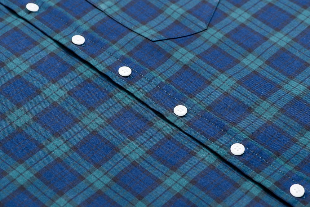 Kirrin Finch Blackwatch Tartan button-up shirt