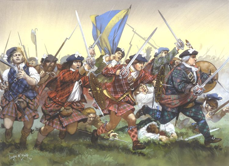 Battle of Culloden sourced from Education Scotland