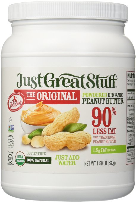 Betty Lou's Organic Powdered Peanut Butter: <br> ★★★★★