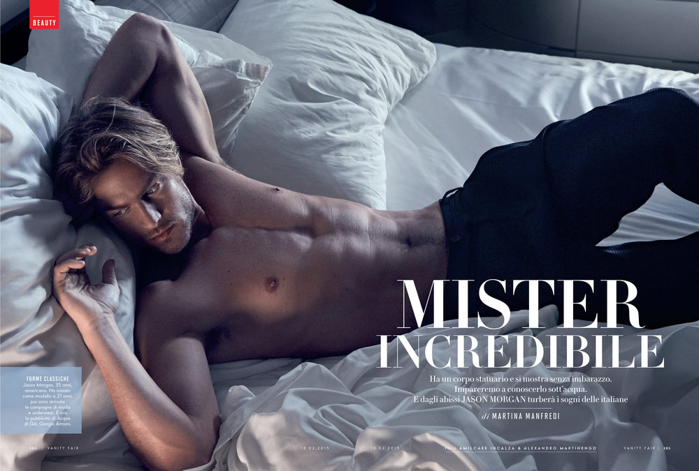 JASON MORGAN - VANITY FAIR ITALIA
