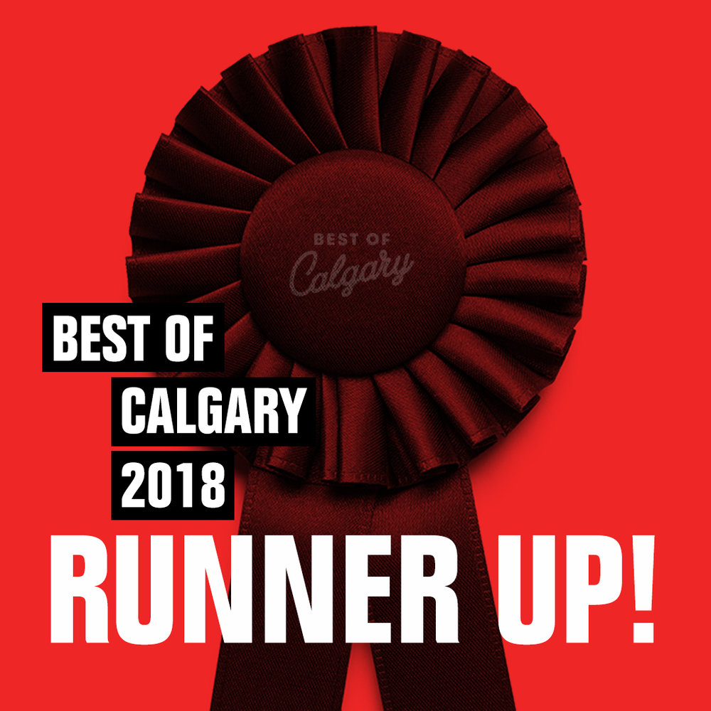 Best of Calgary - Second Runner up in Best New RestaurantSecond Runner Up in Best Budget Friendly Restaurant
