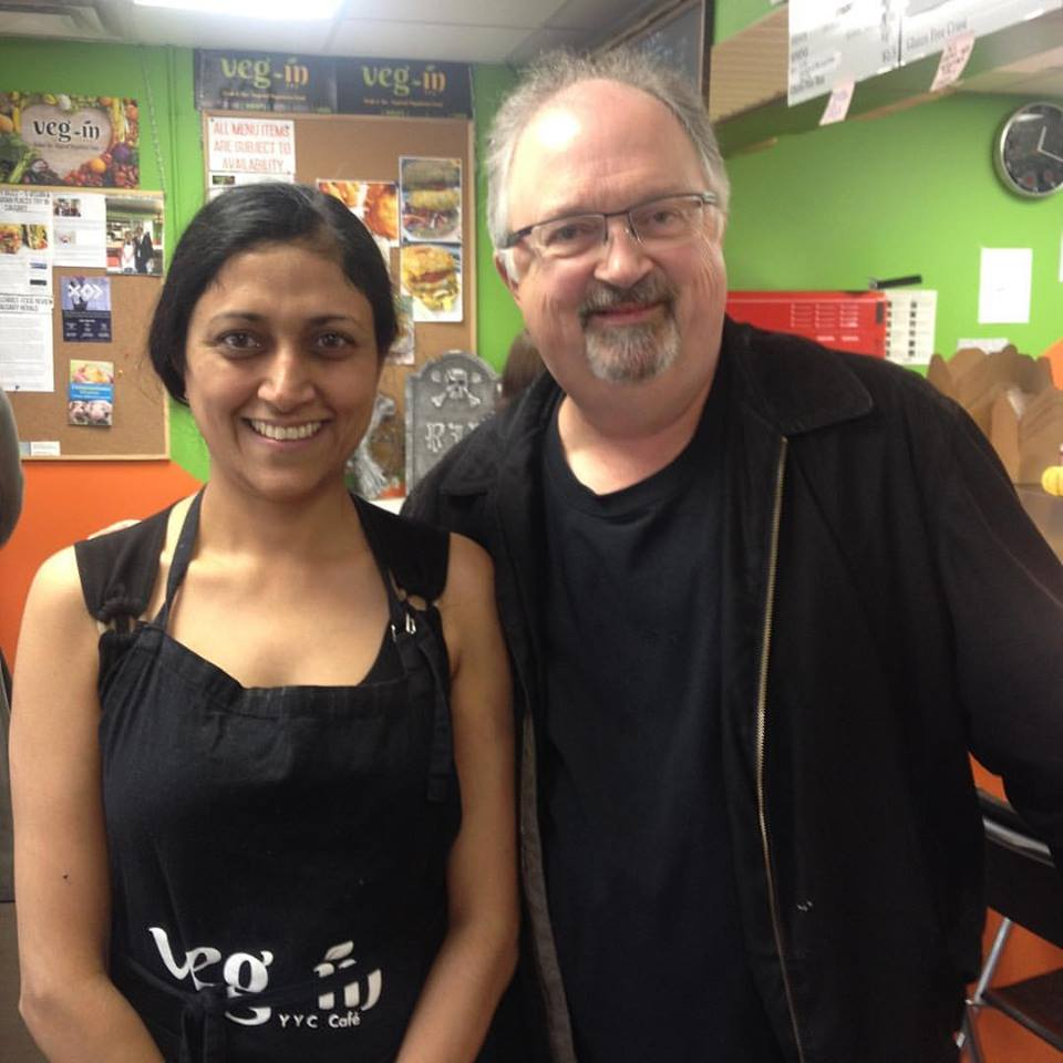 Sehra Bindal & Food Reviewer - John Gilchrist