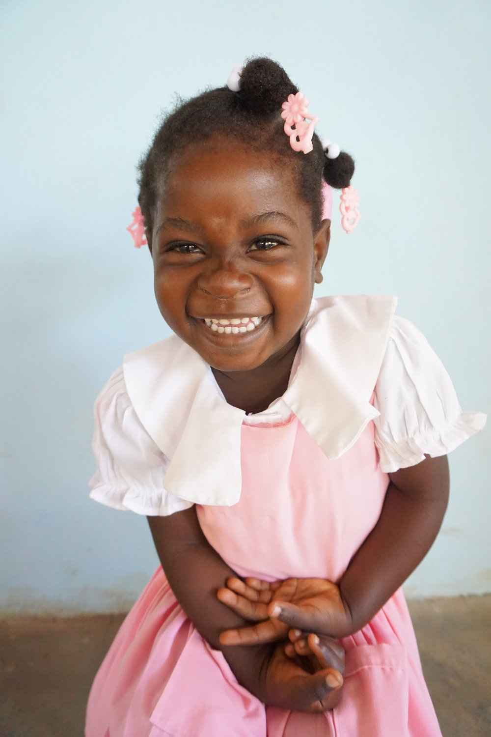 Sponsor a student - Your monthly donation helps us to cover our school operating costs and continue our mission of awakening education in Haiti.Your donation will mainly help to fund our daily breakfast & lunch program, electricity and water needs, and salaries for our Haitian staff. This allows us to keep our tuition low and affordable for our students families (about a dollar a month) while meeting their needs and giving them the best education possible. Thank you for your generosity and sacrifice! We pray this will bless you and your family.