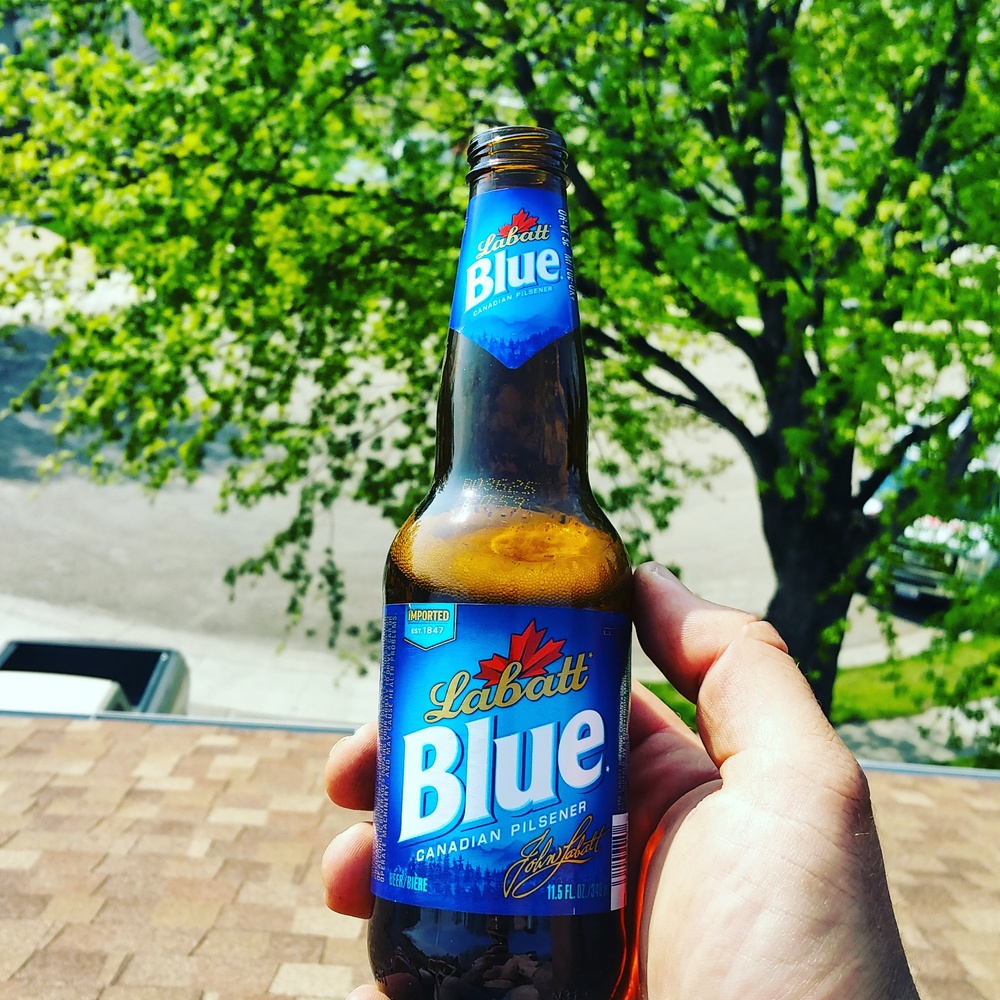All of the finest beers are imported from Canada and are consumed on my roof. #RoofBeers