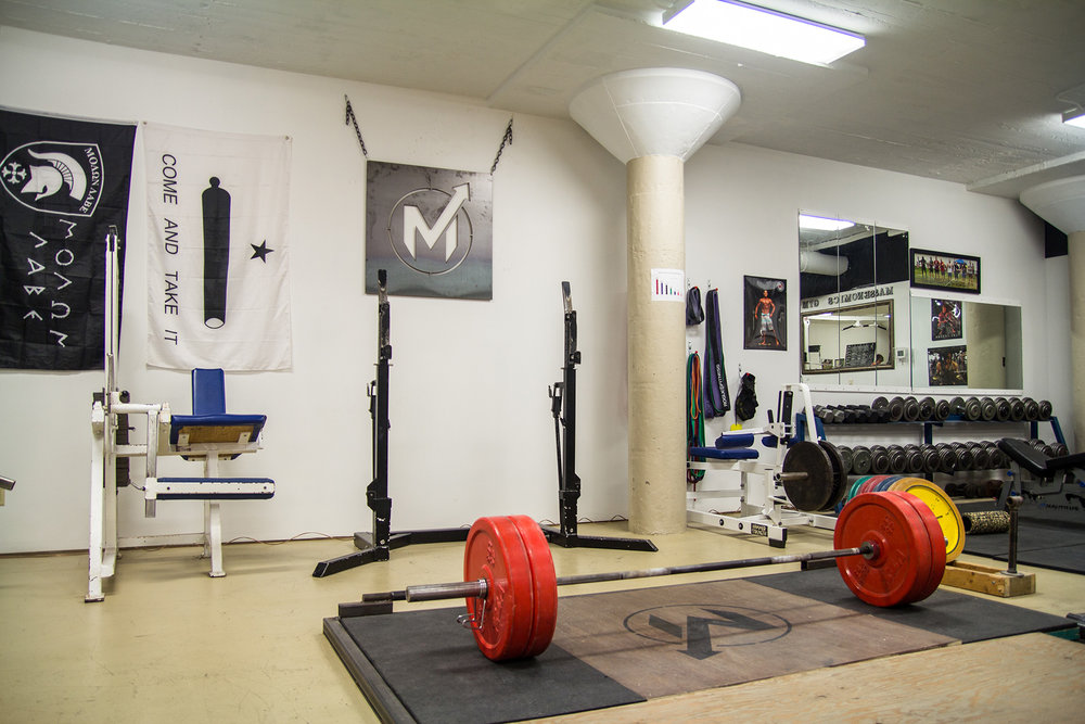 Deadlift platform