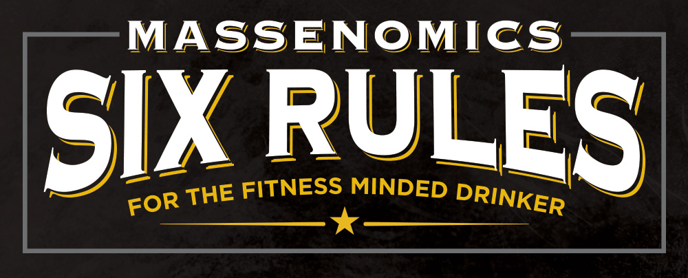 Six Rule for the fitness minded drinker