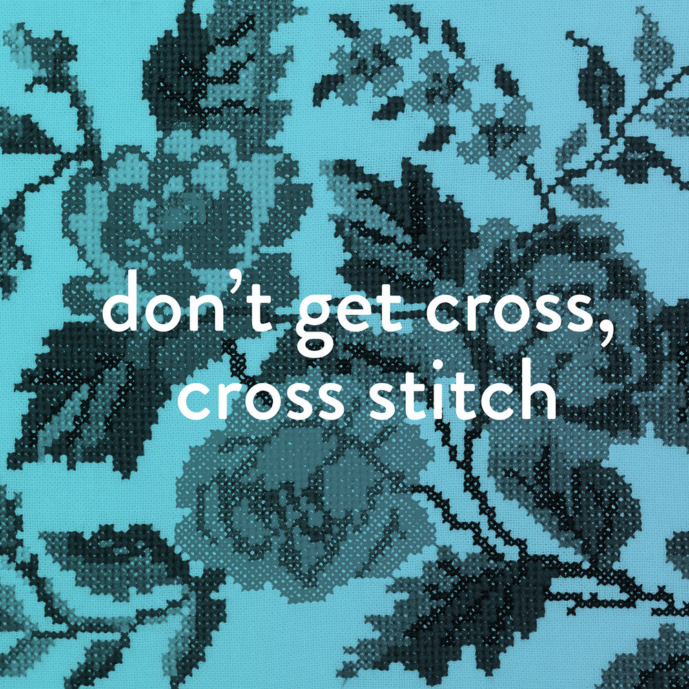 Don't Get Cross, Cross Stitch! Learn the art of subversive cross stitch with Craft Guerrilla Debbie Daniel! Get crafty and slightly sweary at this friendly workshop, where you'll learn to create your very own expressive cross stitched hoop. Channel your inner tensions into decorative textiles. Rude, lewd, crude or just plain honest - this workshop is a playful take on the traditional 'home sweet home' sampler. Instead we celebrate chaos, discord and everyday stresses by keeping our hands busy and making peace with life's micro-aggressions! The class is all in good humour and during the workshop, participants will be guided through the basics of cross stitching as well as a simple lesson in layout, so you can transfer your design from paper onto fabric. Mon 22 August 2016 19:00 – 20:30 £25 plus booking fee Book here