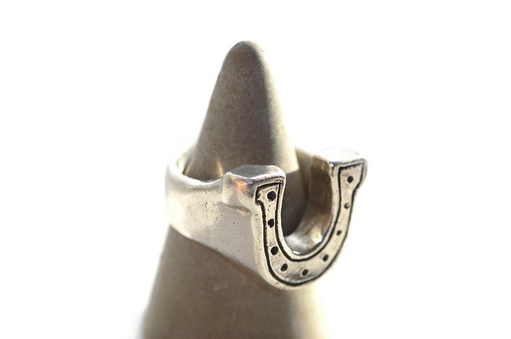 The horseshoe ring