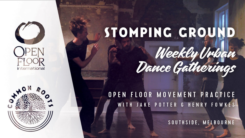 - South SideA weekly Thursday Open Floor Dance with Jake Potter & Henry Fowkes. This is a drop-in class for all levels of experience and movement abilities.Every Thursday7:30pm - 9:30pmSt John's Anglican Church Hall86 Clendon Rd, Toorak, 3142