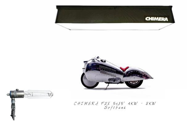 CHIMERA F2X 4/8KW 1,5 x 4,5 M