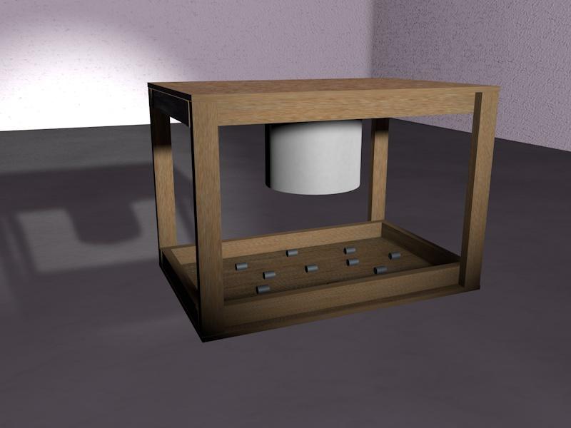 I used Cinema 4D to make a 3D model of my design.