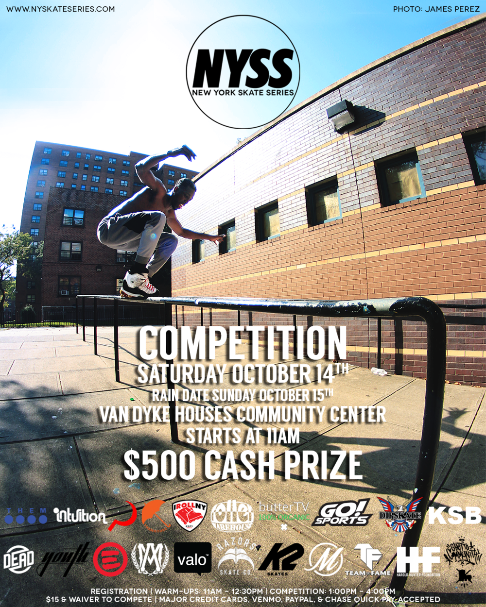 Brownsville NYSS Flyer - Chris Evans