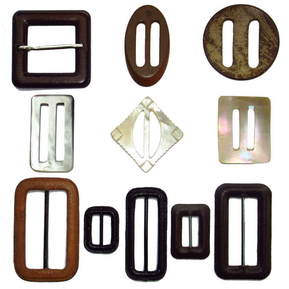 Natural belt buckles