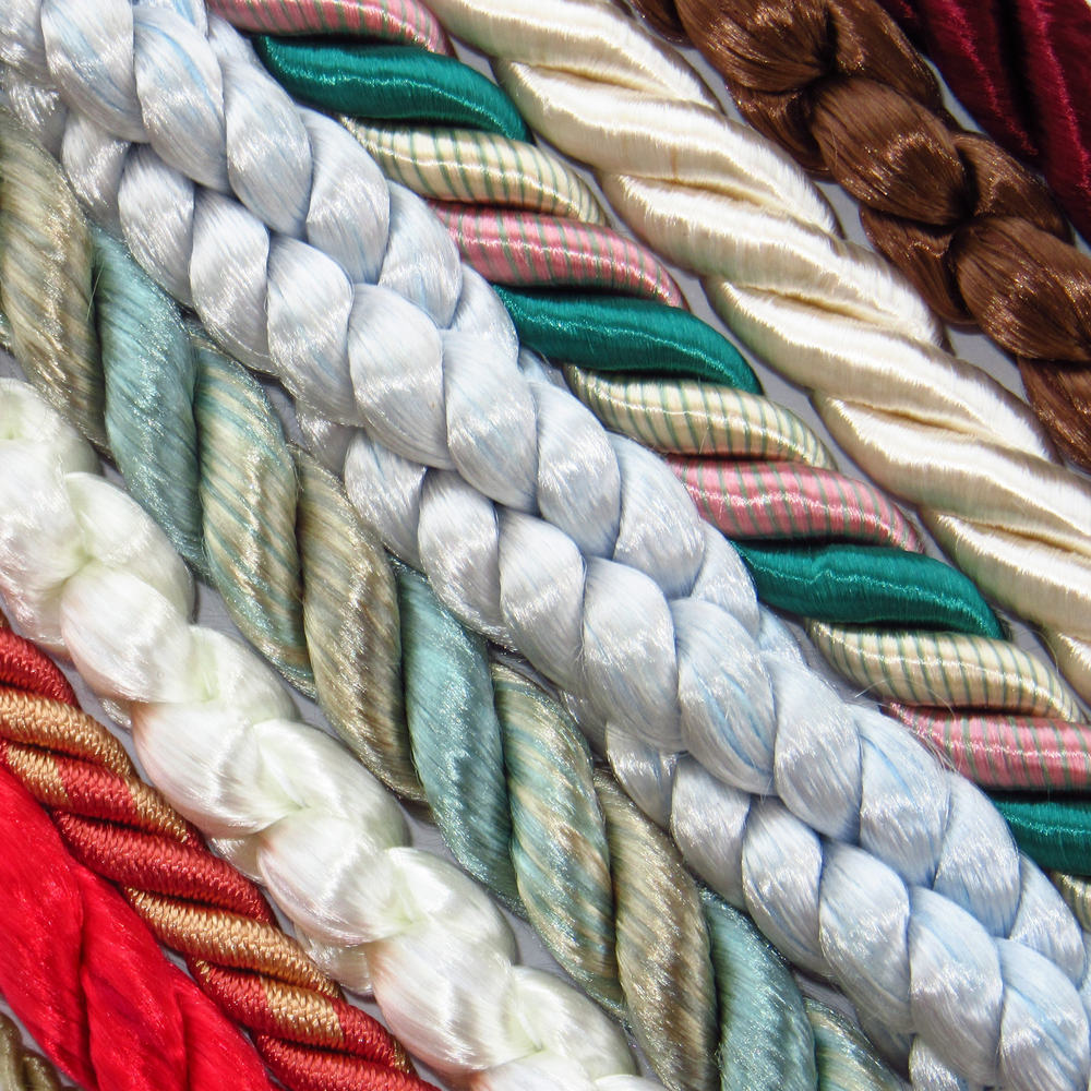 Rayon twist cords