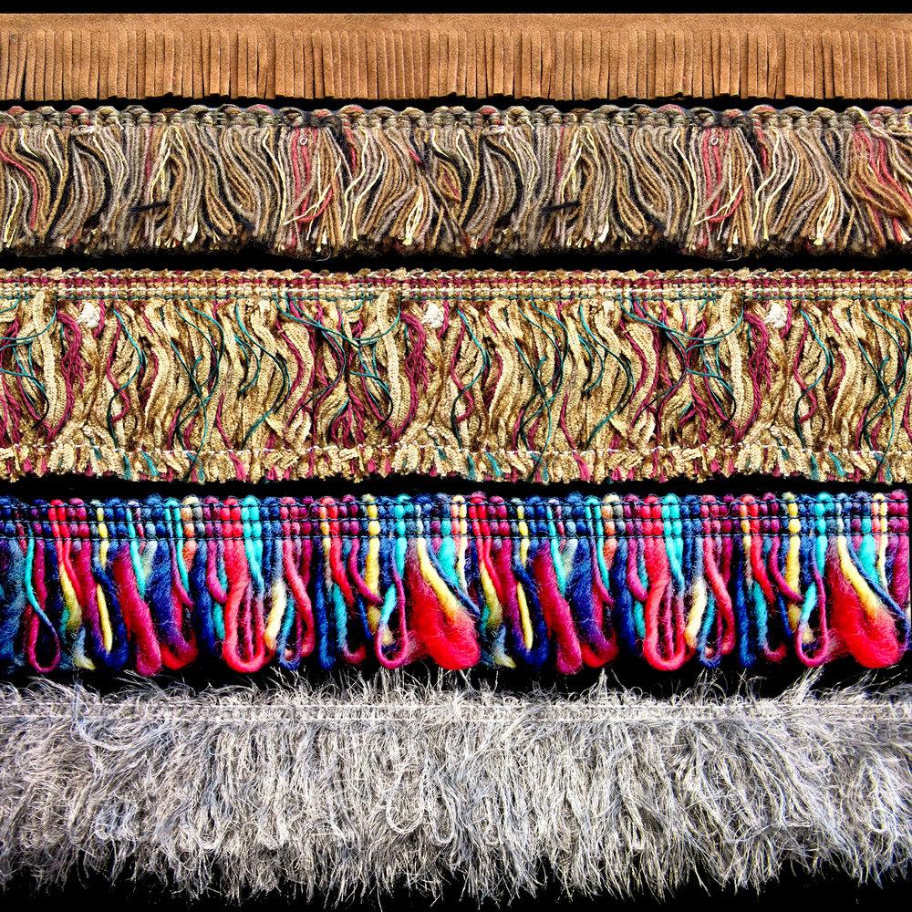 Frange en fibre naturelle
