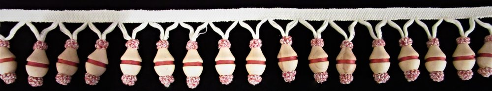 Wooden Tassel Fringe