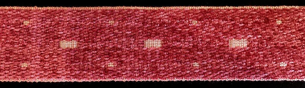 Ruban tapisserie en velour