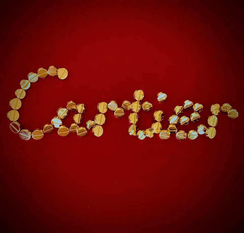 Boutons style Cartier