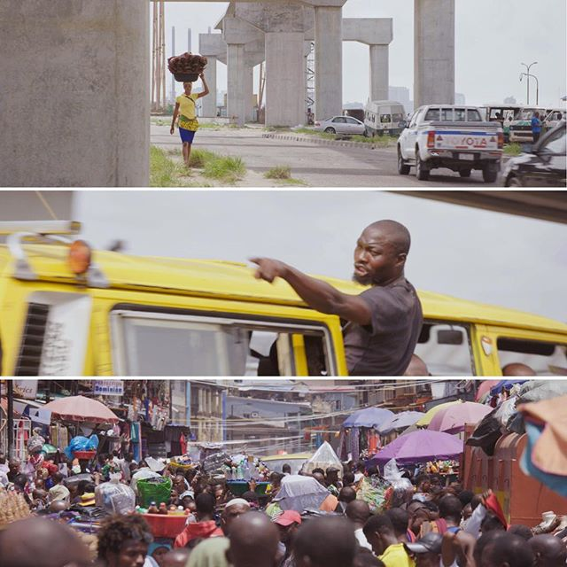 Streets of Lagos. . . A few more frames from our last week of filming. . . . #lagos #nigeria #sonyfs7 #fujinonlens #dop #filmmaker #travelphotography #travel #travelyourway #streetstyle #streetphotography #photography #yellow #frames #latestwork #snapseed #instadaily #concretejungle #urban #urbanphotography #leadinglines #tropiccolour