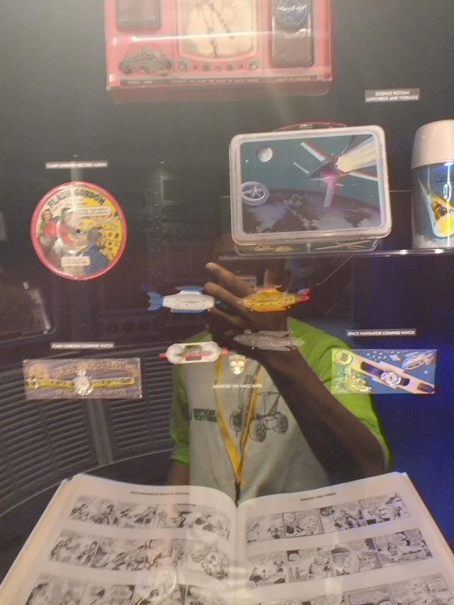 Astronauts' childhood memorabilia