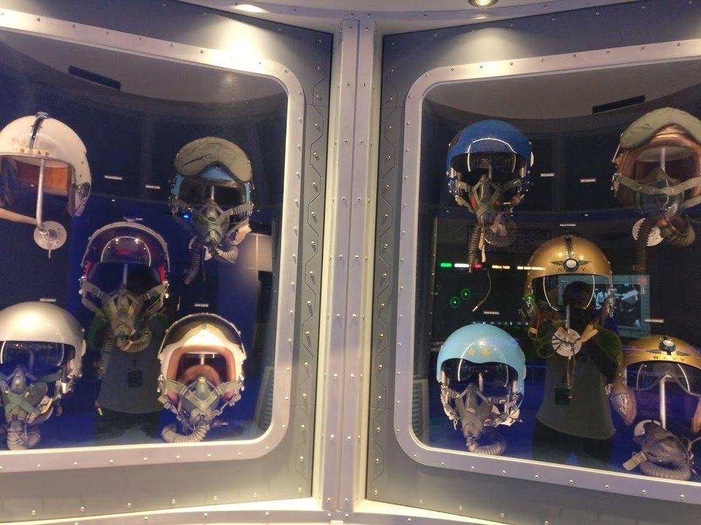"""Pilot helmets (under """"confident"""")"""