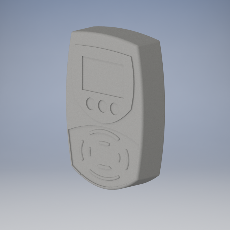 An ORCA card scanner model for importing into Unity