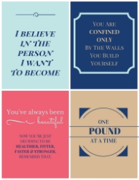 PCOS Motivational Printables