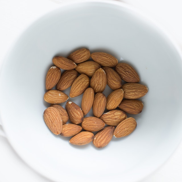 Almonds are a perfect on the go snack that is high in protein.