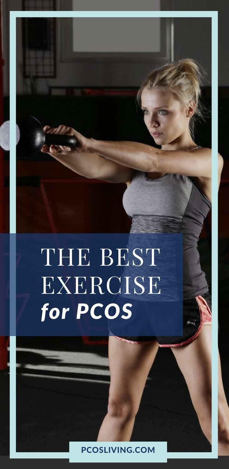 The best exercise to lose weight with PCOS // PCOS Weight Loss // How to lose weight with PCOS // PCOS Exercise // HIIT for PCOS |  PCOSLiving.com  #pcos #insulinresistance