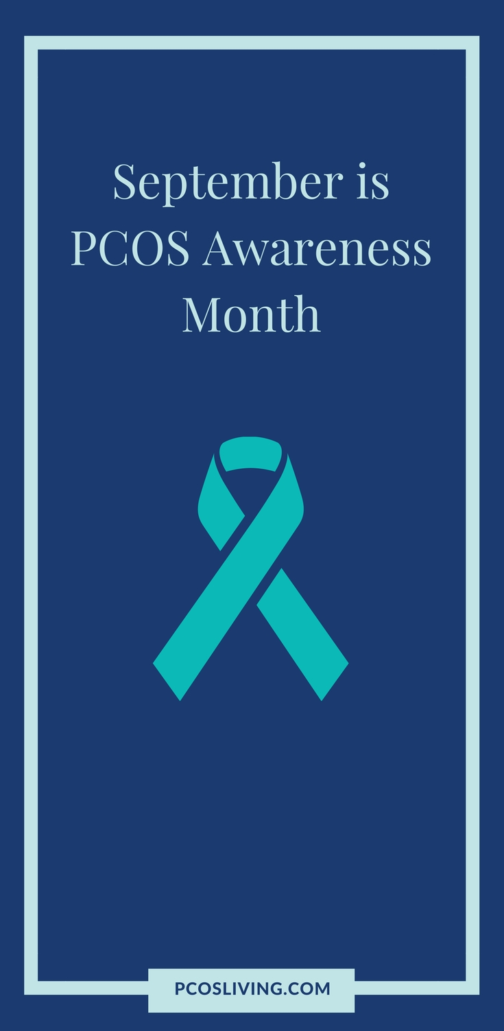September is PCOS Awareness Month. Please spread the word as many women have the issue and it goes undiagnosed. Let's give women the support, resources, and tools they need! // PCOS Support // PCOS Awareness | PCOSLiving.com