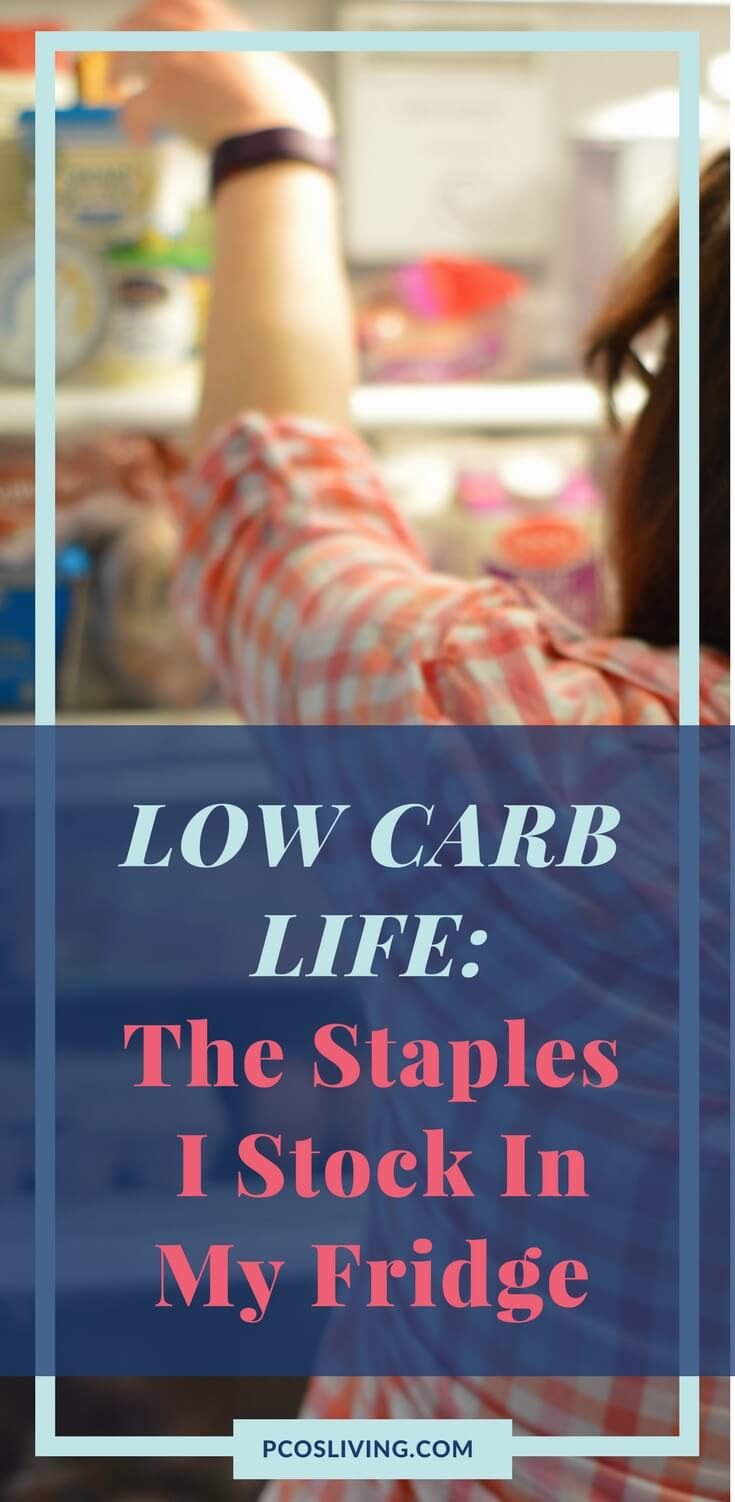 It is easy to stay low carb when your kitchen is full of the essentials. Here is what I keep on hand so my diet stays easy to follow. // PCOS & Low Carb // PCOS Weight Loss // Low Carb Essentials | PCOSLiving.com