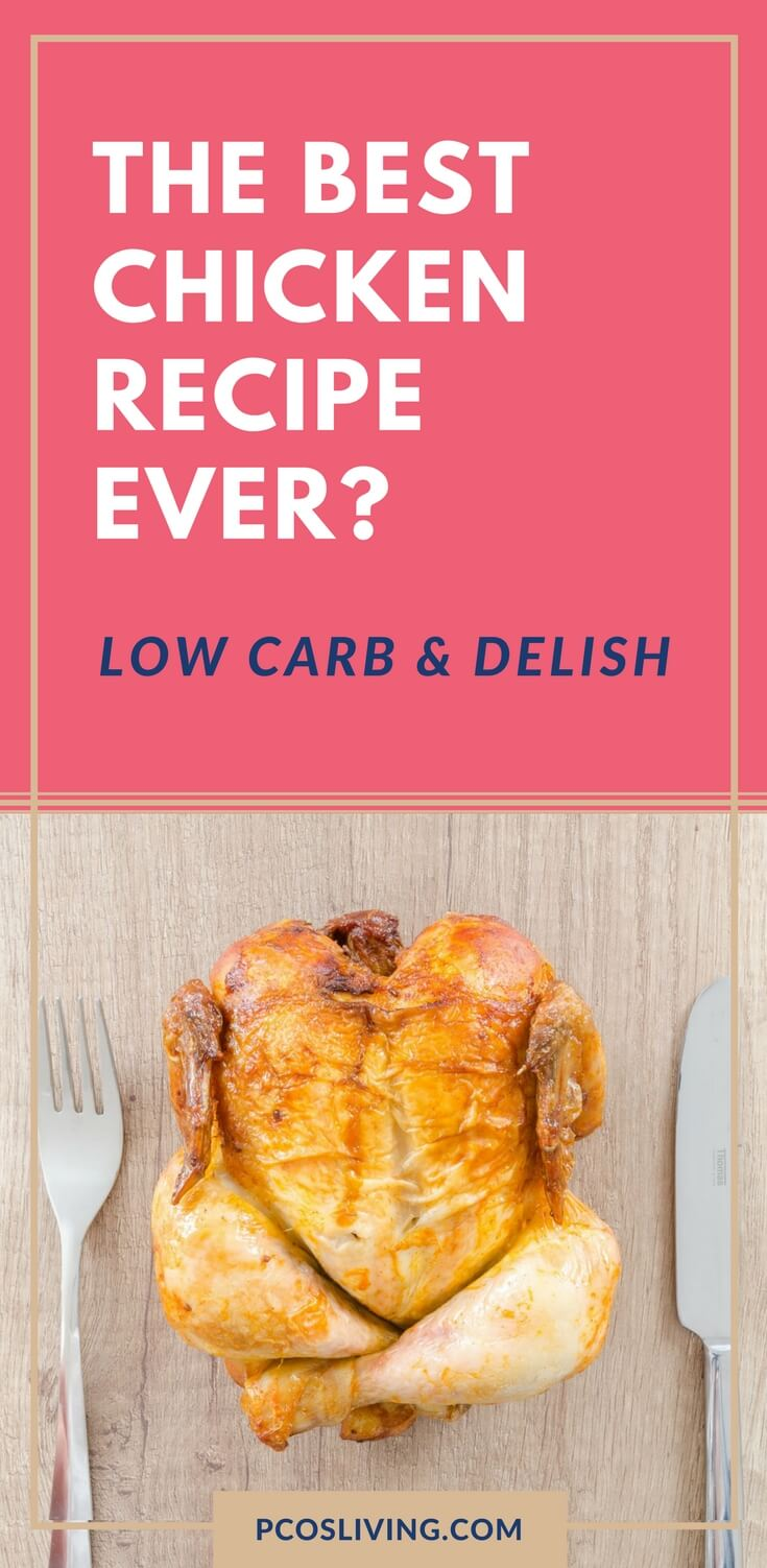 You won't be tired of chicken after eating this low carb recipe. Chicken and Asparagus with Creamy Dijon Sauce recipe // Delicious low carb dinners // Best Chicken Recipes // Low Carb Recipes that taste good // PCOS Weight Loss | PCOSLiving.com