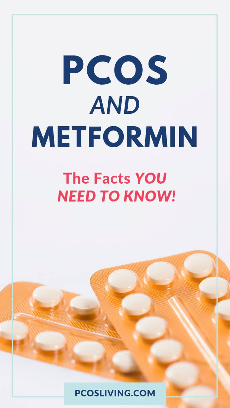 The facts about metformin for PCOS. PCOS metformin // metformin and PCOS // treating PCOS with metformin // | PCOSLiving.com #pcos #metformin