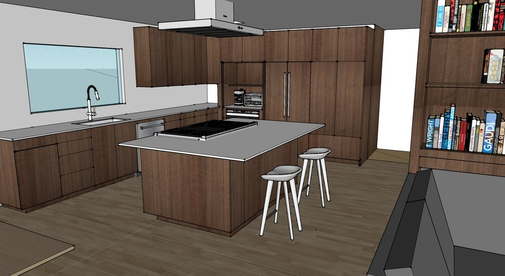 Hermosa Kitchen Walnut2 Copy