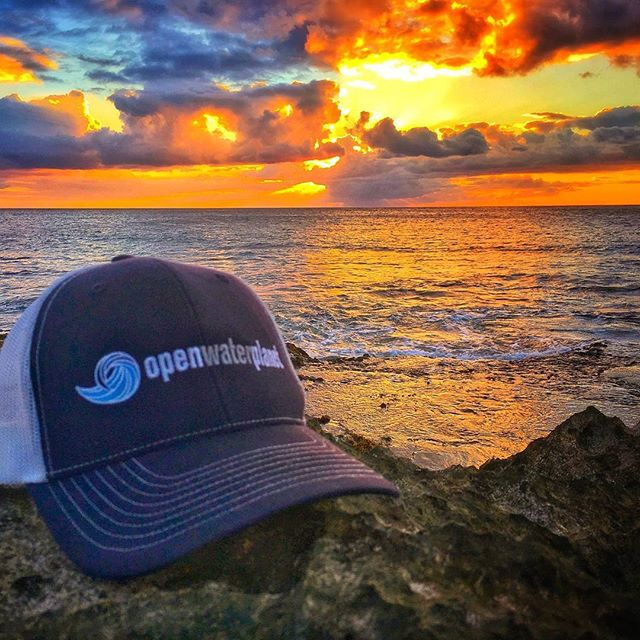 Where on the planet is YOUR open water?  Pumped to get this pic from Hawaii this morning.  Let us know where you find your favorite #openwater !  Tag us ( @openwaterplanet ) in your open water pic for a chance to win a first edition #owp hat!  #openwaterswimming #lifebythewater #wheredoyouswim