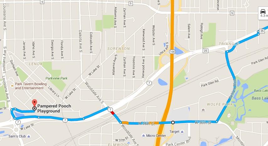 Highway 7 Detour